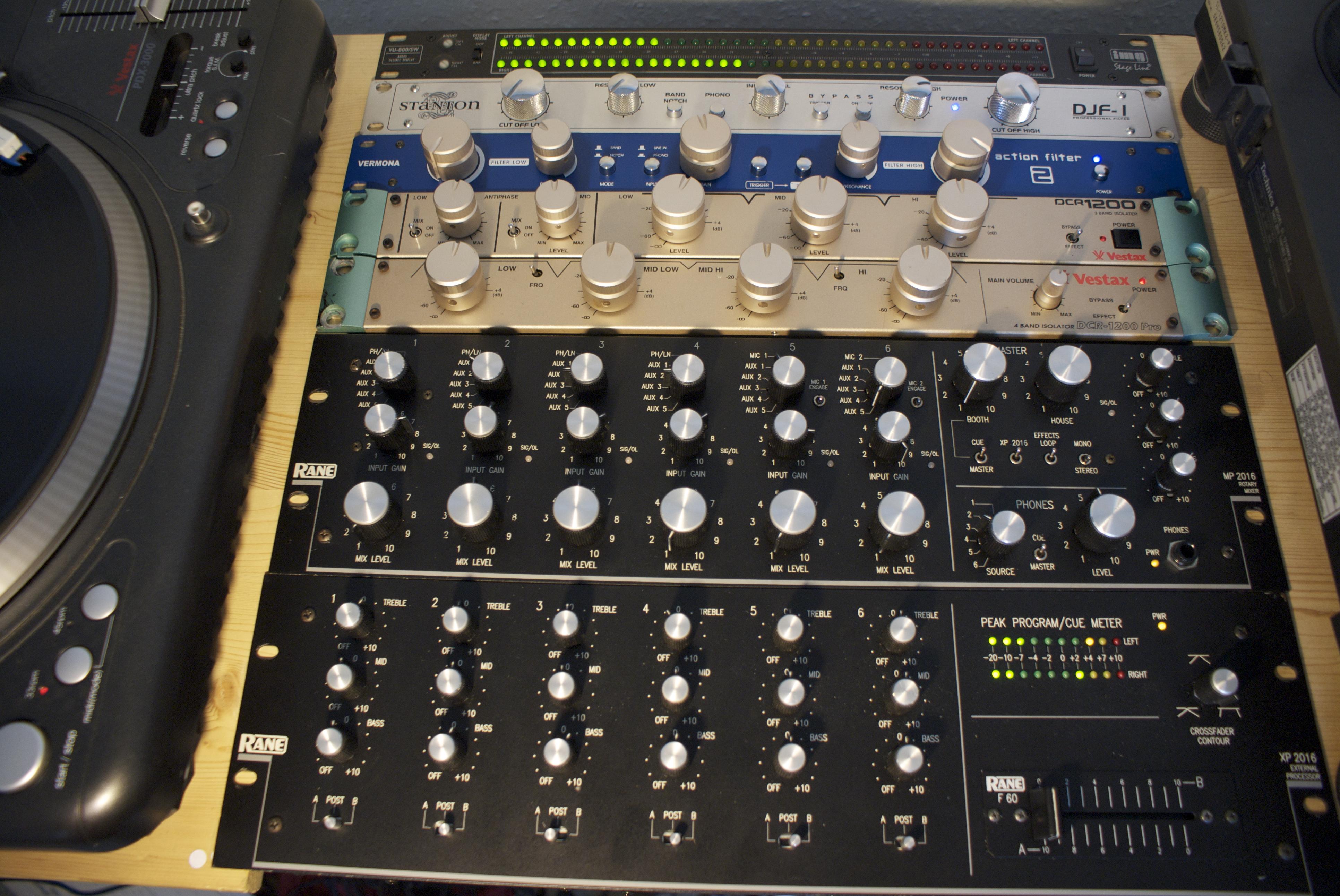 Modular Analogue Dj Mixer James Kelly S Blog