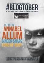 blogtober-killing-moon-annabel-allum-ginger-snaps-the-finsbury