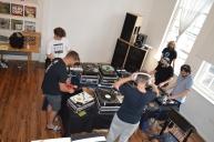 Scratch DJ'ing